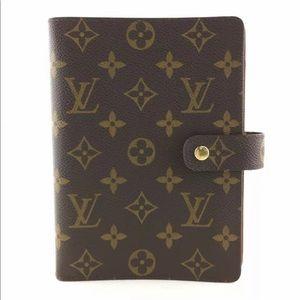 Louis Vuitton MM Notebook/Planner/Organizer + more